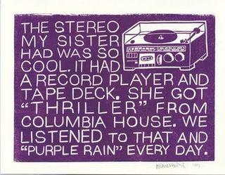 Thriller and Purple Rain