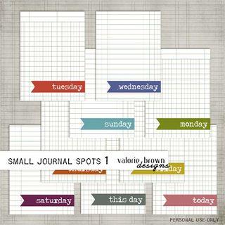 Journal spots
