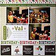 Happy birthday, Val