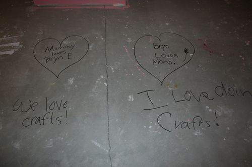 Craftroomfloor