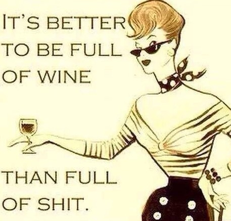 Wine shit