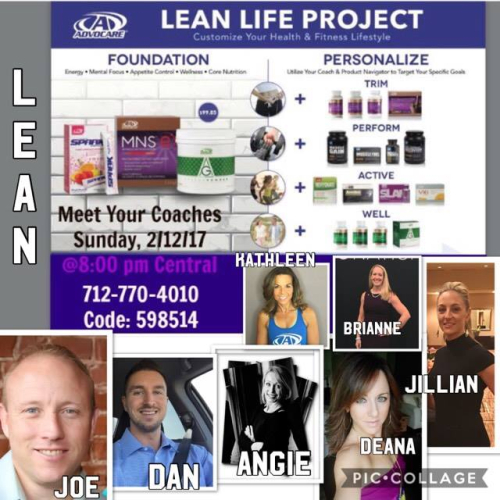 LEAN LIFE PROJECT - HUSTLE 2017