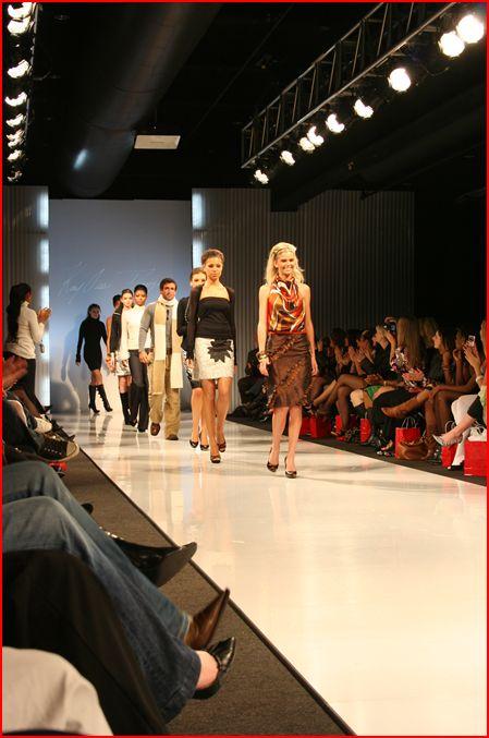 Kayoss @ FRESH Luncheon/Runway Show, St Louis Fashion Week '09